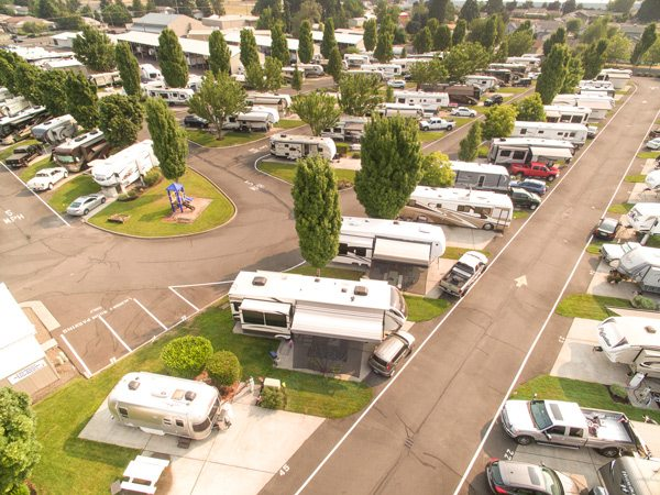 family-friendly RV parks in Salem