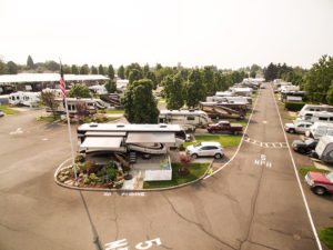 RV park in Salem