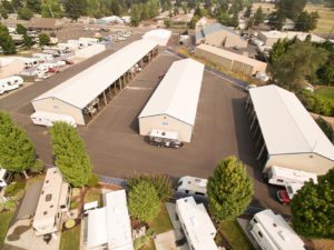 RV parks with storage near Salem