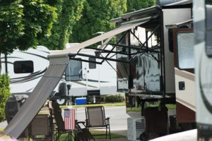cozy RV park in Salem OR