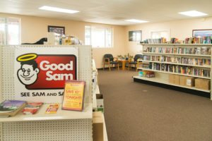 Phoenix RV park bookstore
